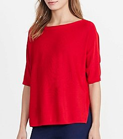 Lauren Jeans Co.® Boatneck Top