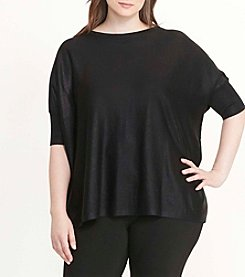 Lauren Ralph Lauren® Plus Size Elbow Sleeve Sweater