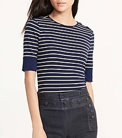 Lauren Jeans Co.® Haeliegh Short Sleeve Top