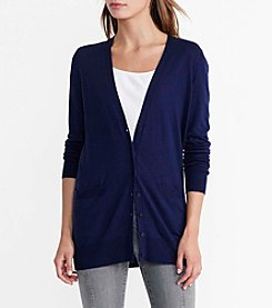 Lauren Jeans Co.® Long Sleeve Cardigan Sweater