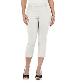 Rafaella® Cropped Power Stretch Pants
