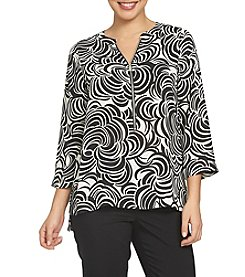 Chaus Allover Printed Blouse