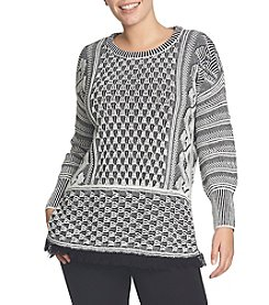 Chaus Patterned Sweater