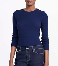 Lauren Jeans Co.® Laurka Long Sleeve Knit Top