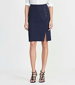 Lauren Jeans Co.® Lace up Skirt