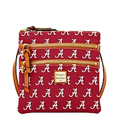 Dooney & Bourke® NCAA® Alabama Crimson Tide Triple Zip Crossbody Bag
