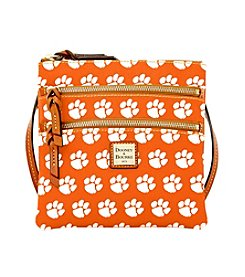 Dooney & Bourke® NCAA® Clemson Tigers Triple Zip Crossbody Bag