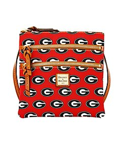 Dooney & Bourke® NCAA® Georgia Bulldogs Triple Zip Crossbody