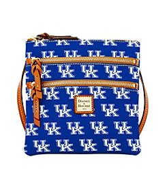 Dooney & Bourke® NCAA® Kentucky Wildcats Triple Zip Crossbody Bag