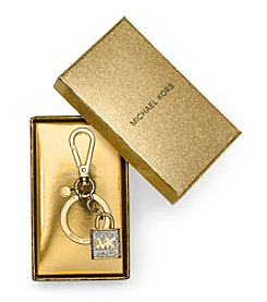 MICHAEL Michael Kors® Pave Lock Key Fob