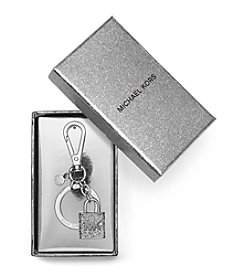 MICHAEL Michael Kors® Pave Lock And Key Fob