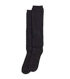 HUE® Thick Quilted Knee High Sock