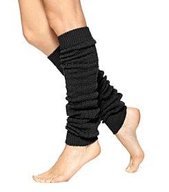 HUE® Openwork Legwarmer Socks