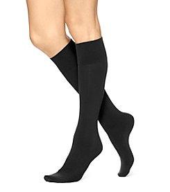 HUE® Simply Skinny Knee Socks