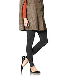 HUE® Fleece Lined Ponte Leggings