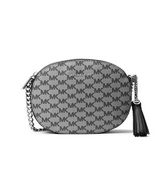 67706e524931d6 ... Logo Women's UPC 190049598795 product image for MICHAEL Michael Kors  KORS STUDIO Ginny Medium Messenger Bag | upcitemdb ...