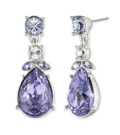 Givenchy® Lavender Double Drop Earrings