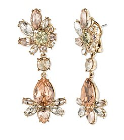 Givenchy® Faceted Stone Drop Earrings
