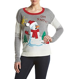 It's Our Time® Light Up Oh Snow Sweater