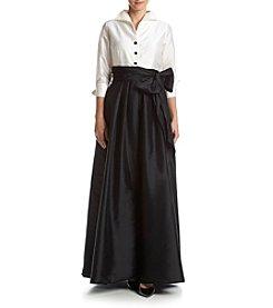Adrianna Papell® High Low Taffeta Dress