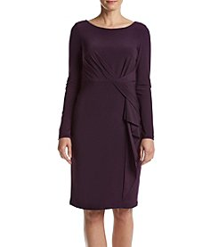 Vince Camuto® Draped Front Sheath Dress