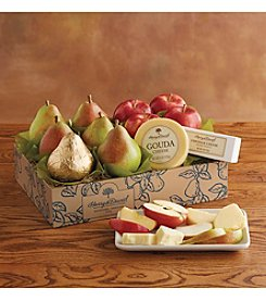 Harry and David® Classic Pears, Apples and Cheese Gift