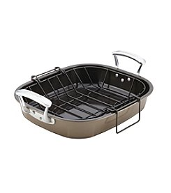 Anolon® Nonstick Roaster with Hanging Rack