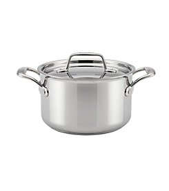 Breville® Thermal Pro™ 4-Qt. Clad Stainless Steel Covered Saucepot