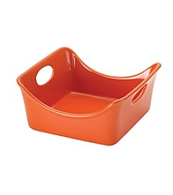 Rachael Ray® Stoneware 2-qt. Orange Square Baker