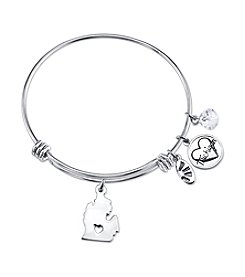Gratitude and Grace Michigan Adjustable Bangle