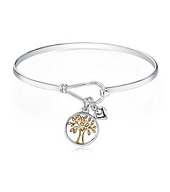 Gratitude and Grace Family Tree Catch Bangle