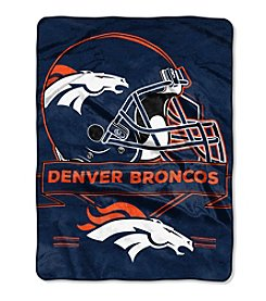 Northwest Company NFL® Denver Broncos Prestige Raschel Throw