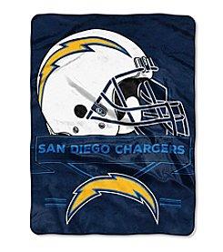 Northwest Company NFL® San Diego Chargers Prestige Raschel Throw