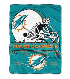 Northwest Company NFL® Miami Dolphins Prestige Raschel Throw