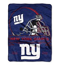 Northwest Copmany NFL® New York Giants Prestige Raschel Throw