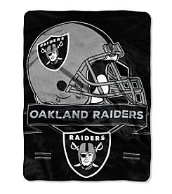 Northwest Company NFL® Oakland Radiers Prestige Raschel Throw