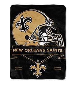 Northwest Company NFL® New Orleans Saints Prestige Raschel Throw