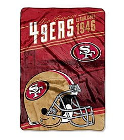 Northwest Company NFL® San Francisco 49ers Stagger Micro Oversize Throw