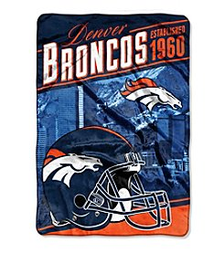 Northwest Company NFL® Denver Broncos Stagger Micro Oversize Throw