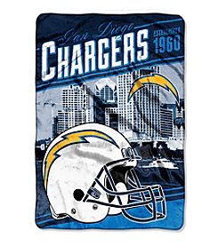 Northwest Company NFL® San Diego Chargers Stagger Micro Oversize Throw