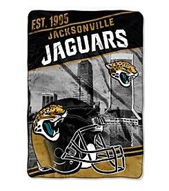 Northwest Copmany NFL® Jacksonville Jaguars Stagger Micro Oversize Throw