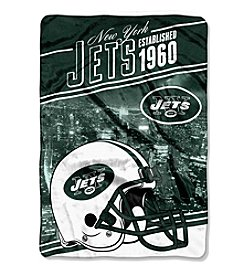 Northwest Company NFL® New York Jets Stagger Micro Oversize Throw