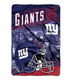 Northwest Company NFL® New York Giants Stagger Micro Oversize Throw