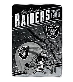 Northwest Company NFL® Oakland Raiders Stagger Micro Oversize Throw