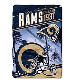 Northwest Company NFL® Los Angeles Rams Stagger Micro Oversize Throw