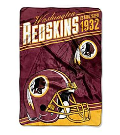 Northwest Company NFL® Washington Redskins Stagger Micro Oversize Throw