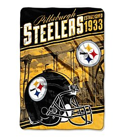 Northwest Company NFL® Pittsburgh Steelers Stagger Micro Oversize Throw