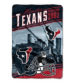 Northwest Company NFL® Houston Texans Stagger Micro Oversize Throw