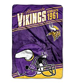 Northwest Company NFL® Minnesota Vikings Stagger Micro Oversize Throw