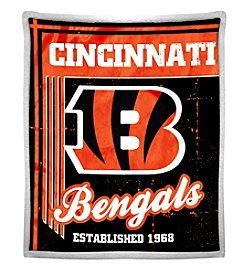 Northwest Company NFL® Cincinnati Bengals Mink Sherpa Throw